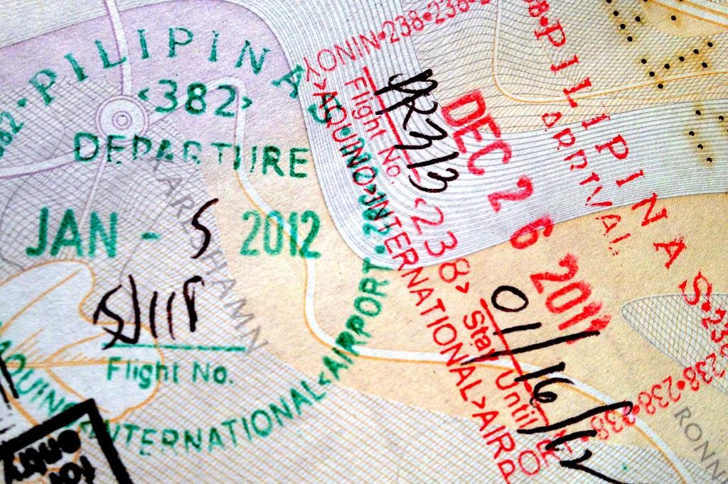 pass och visum till filippinerna