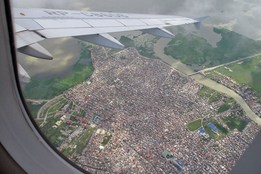 Manila from above (Photo: Göran Ingman)