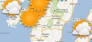 Väder i Filippinerna