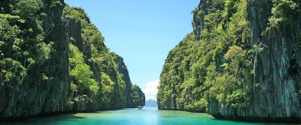 Strandparadiset El Nido i Palawan