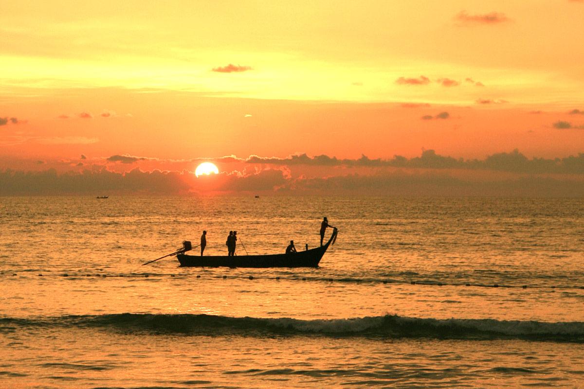 Flyg Phuket - Filippinerna (Foto: Göran Ingman)