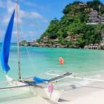 Turistorter oskadda efter orkanen Haiyan