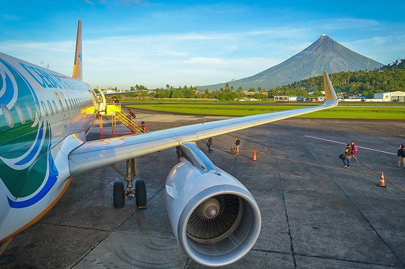 Flyg till Filippinerna